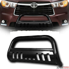 Clearance Blk Bull Bar Push Bumper Grill Grille Guard WB 14-16 Toyota Highlander