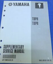 2000 Yamaha Service Repair Manual OEM T8PH T8PR LIT-18616-02-31 Supplement