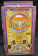 1991-92 UPPER DECK NBA Basketball Hobby Box Series 1, Jerry West Auto Card Chase