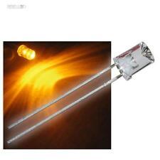 10 x LEDs 5mm cóncava amarillo con Accesorios amarillo cóncava LED