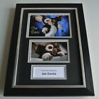 Joe Dante Signed A4 FRAMED photo mount Autograph display Gremlins Film & COA