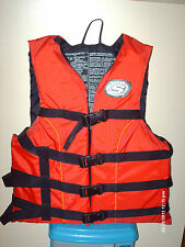 """ADULT """"LIFE JACKET"""" STEARNS BRAND RED COLOUR"""