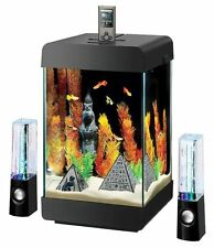 Aqueon Jukebox 5 Aquarium Desktop Kit with LED with Speakers
