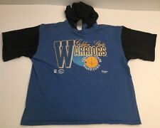 Vtg 90's Golden State Warriors T Shirt Hoodie Hooded By Jostens Curry Durant XL