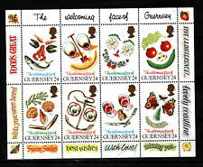 1995 Guernsey, Greetings Stamps, NH Mint Sheet, SG ms671