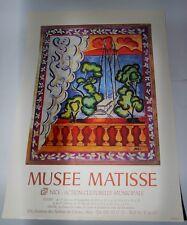 Affiche Nice - Musée Matisse - Fenêtre à Tahiti