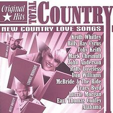 Various Artists: Original Hits: New Country Love Songs  Audio CD