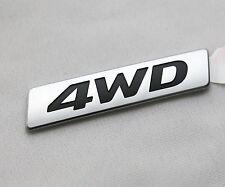 Genuine 4WD Trunk Emblem Badge 1Pcs for Hyundai Santa Fe 2013-2016