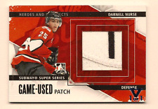 DARNELL NURSE IN THE GAME ITG FINAL VAULT GAME USED JERSEY PATCH 1/1