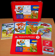 Hooked on Phonics Learn to Read - Red Level 3 - Complete - VGC