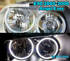 4 x BMW E90 PRE LCI 2005-2008 Aftermarket SMD Angel Eyes Halo Rings WHITE