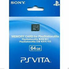 New Sony PS VITA 64GB Memory Card Playstation PSV PCH-Z641 Game #TF0059 L012