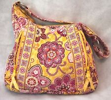 Vintage VERA BRADLEY Yellow Floral Handbag Purse