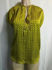 Michael Kors Shirt Top Blouse Sleevesless Gold Chain Around the Neck Size Large