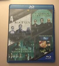 4 Film Favorite - The Matrix Collection (Blu-ray Discs)  Fast Shipping Brand New