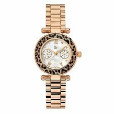NEW GUESS GC X35015L4S LADIES ROSE GOLD DIVER CHIC WATCH - 2 YEARS WARRANTY