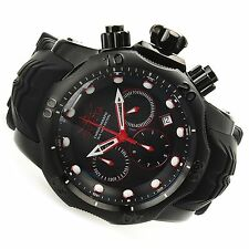 Invicta 52mm Venom 22355 Sea Dragon Quartz Chronograph Silicone Strap Watch New