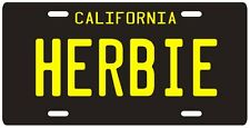 Herbie the Love Bug Volkswagen Beetle License plate #2