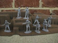 The Gunfighters Austin Cowboys Set Outlaws Pinkerton Texas Rangers Toy Soldiers