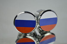 Russian Federation Flag Handlebar End Plugs Bar Caps lenkerstopfen bouchons