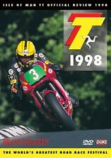 Isle of Man TT - Official Review 1998 (New DVD) Brave Hearts