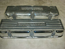Corvair Aluminum POLISHED Offenhauser Valve Covers, brighter than new, 2 gaskets
