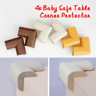 4x Baby Safe Desk Table Corner Security Cushion Anti-crash Protector Soft