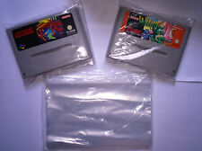 100x  COVERS Bags protectors CARTRIDGES  NINTENDO SNES SUPER nintendo