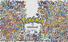 Pokemon Pikachu Puzzle Jigsaw Friends Hobbies Pokémon 1000 pcs puzzles Toys NEW