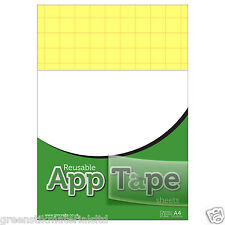 Reusable Application Tape Film Sheets A4 VinyTransfer Silhouette Portrait Cameo