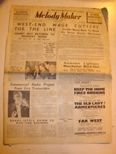 MELODY MAKER 1939 OCTOBER WEST END AMBROSE COMMERCIAL RADIO PALACE THEATRE