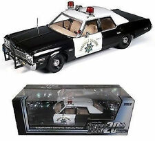 1:18 ERTL AutoWorld Elite 1974 Dodge Monaco California Highway patrol