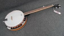 Ibanez B50 5-String Banjo 24-lug closed-back Mahogany Rim, Neck & Resonator