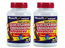 2 X 90 = 180 Capsules GLUCOSAMINE CHONDROITIN w/ COLLAGEN and HYALURONIC ACID