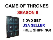 Sealed GAME OF THRONES SEASON 6 DVD SET 2016