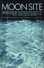 Original Vintage Poster Moonsite Lunar Buckminster Fuller Moon Space NYC 1969
