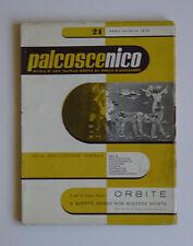 Palcoscenico n.21 Enrico D'Alessandro Anton Giulio Bragaglia Iliprandi Futurismo