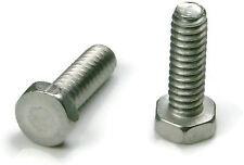 "Stainless Steel Hex Trim Head Machine Screw #10-32 x 1"", Qty 25"