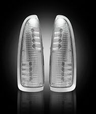 RECON CLEAR LED MIRROR LIGHTS LENS FOR 03-07 FORD F250 F350 F450 SUPER DUTY