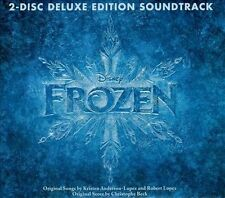 Frozen [Deluxe Edition] by Christophe Beck (Composer) (CD, 2 Discs, Walt Disney)