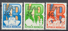 INDONESIA 1975 ZBL SERIE 832  MNH