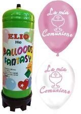 BOMBOLA ELIO GAS gonfia 25 palloncini COMUNIONE che volano FESTE ADDOBBI