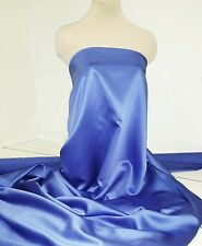 "DUCHESS SATIN FABRIC PERIWINKLE /BLUE   58"" BTY WEDDING BRIDESMAIDS  SUITS"