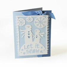 Sizzix Thinlits Cutting Embossing Stencil Die LET IT SNOW 659921