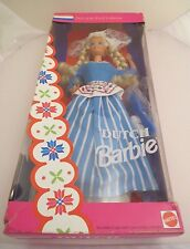 Vintage Mattel Dutch Barbie NRFB 1993 Dolls of the World