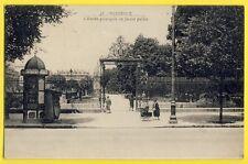 cpa 33 - BORDEAUX en 1930 Entrée du JARDIN PUBLIC à PETRUS de SUTTER, BELGIE
