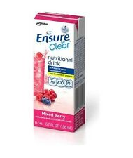 Ensure Clear Mixed Berry Drink, 6.75 ounce, 56642, Fresh Product, Case of 32