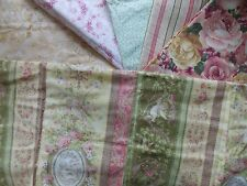 WtW Fabric Quilt Stash Craft Lot 6 Floral Bird Cherub Shabby Cottage Garden Rose
