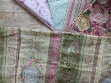 WtW Fabric Quilt Stash Craft Lot 6 Floral Bird Cherub Shabby Cottage Garden Rose