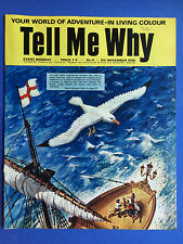 Tell Me Why - Your World Of Adventure - No.11 - November 1968 - Wonders Magazine